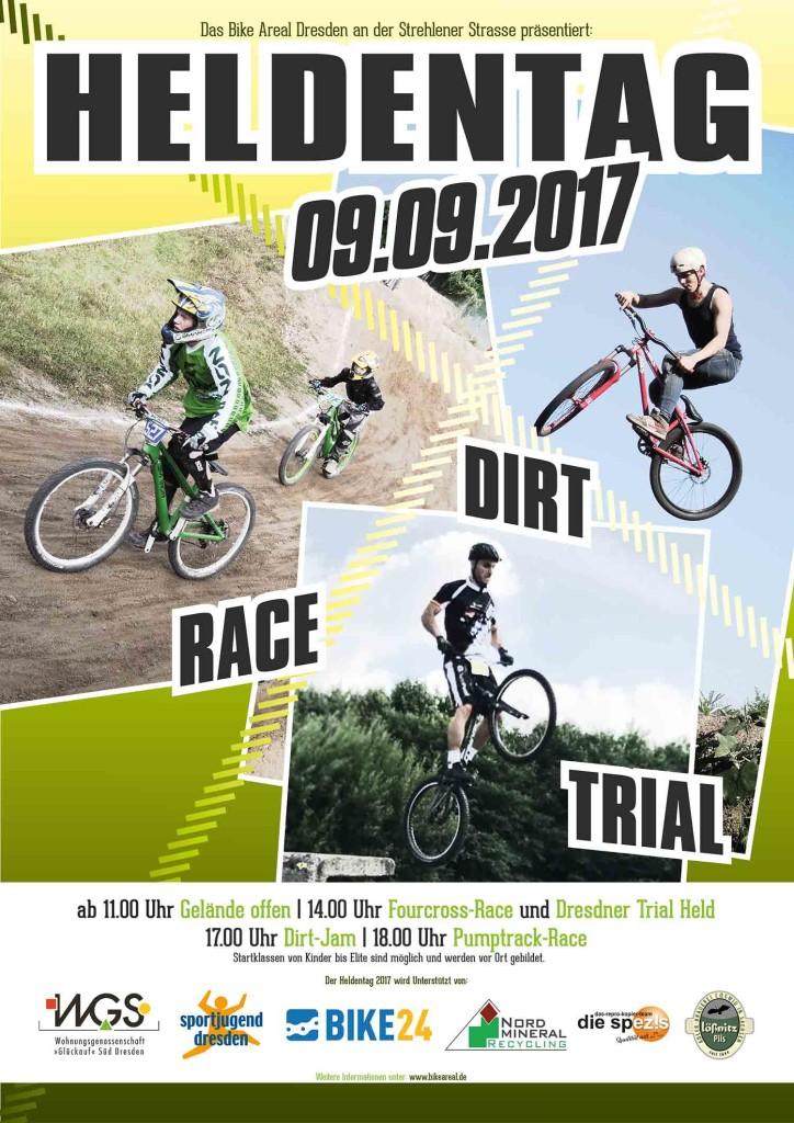 Heldentag 2017 Bike Areal Dresden
